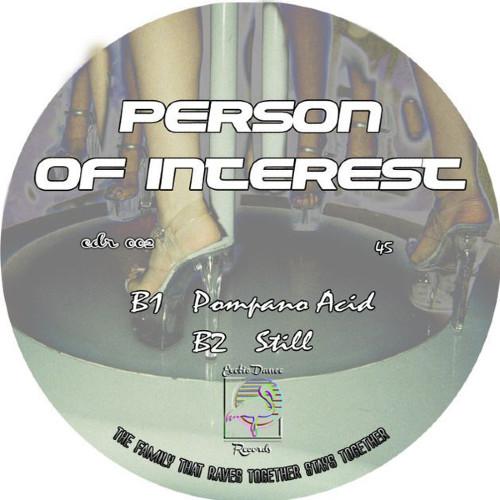 J. Albert Person of Interest EDR002