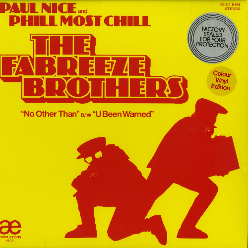 Paul Nice and Phill Most Chill The Fabreeze Brothers