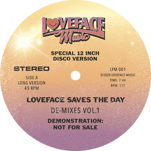 Loveface - De-mixes Vol.1